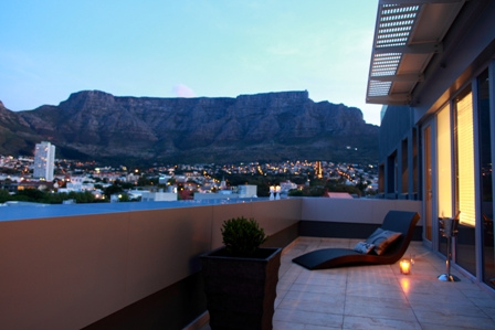 15 On Orange penthouse 2 Bedroom Atlantic Letting Luxury Holiday Accommodation Vacation Rental Cape Town view image