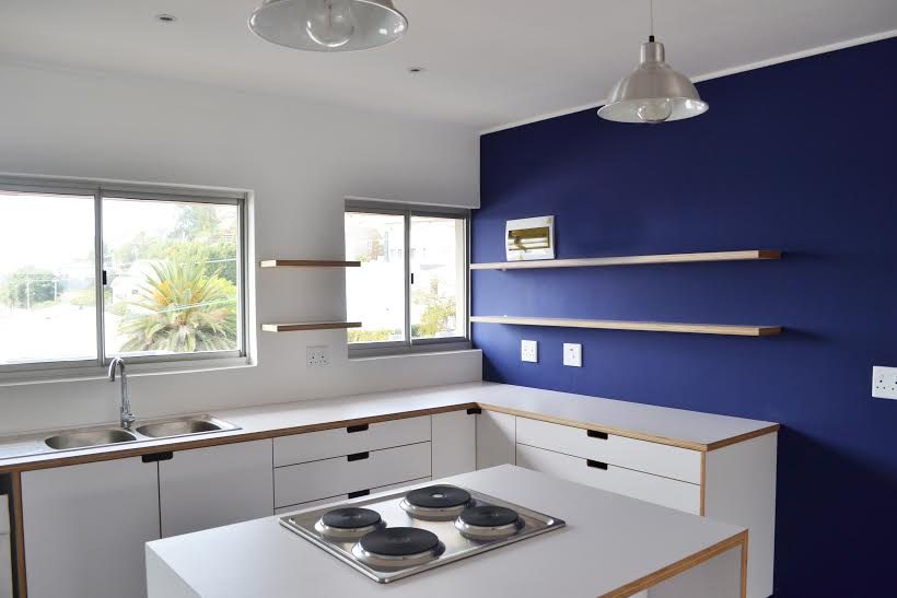 Overton Apartment Green Point Cape Town Luxury Holiday Apartment Rental Property Accommodation Atlantic Letting unfurnished kitchen renovated