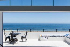 Blanc De Blanc Apartment 1 Bedroom Luxury Accommodation Cape Town Clifton Atlantic Letting deck sea view photo